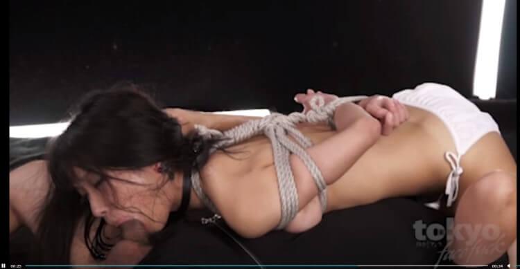 bondage ropeplay video at Tokyo Face Fuck